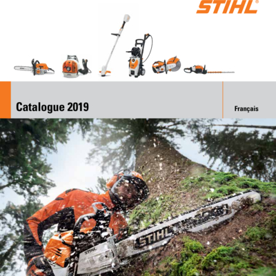 Catalogue 2019 Stihl