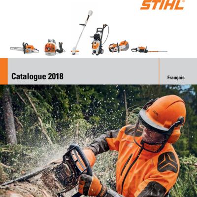 Catalogue Stihl 2018